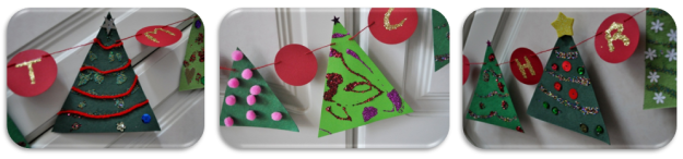 Christmas Tree made by kids